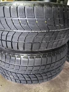 2 winter tires Bridgestone blizzak  245/50r18  ws-60