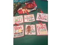 Home sewn Christmas gifts