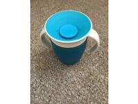 Munchkin blue sippy cup