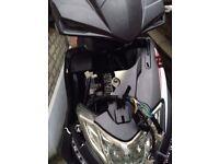 Harrier moped