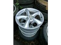 Mercedes 5x112 5 x 112 clk wheels genuine ok condition