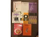 Alto Saxophone sheet music - intermediate