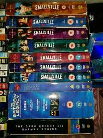 Boxsets and dvds and pc game