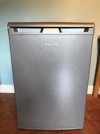 Silver Coloured Beko Fridge EXCELLENT CONDITION
