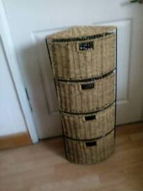 Rattan Storage Drawers.