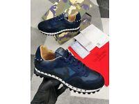 Men's blue trainers sizes 7 - 11