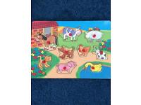 Childrens early learning centre wooden jigsaws