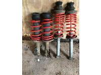 Vw golf mk3 lowering kit eibach springs shocks mk2