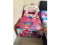 little pony toddler bed