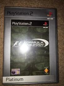 Formula one 2001 edition- Playstation 2