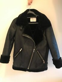 Beautiful Gap Coat Military Style Size 14 Velvet Details Price
