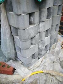 Marshalls grey block paving bricks