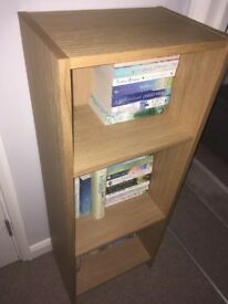 Ikea oak shelf unit