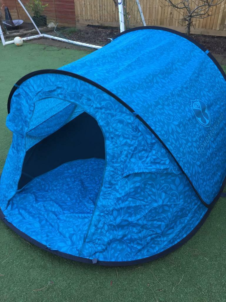 Instant Pop Up 2 Man Tent Tomorrowland Dreamville In