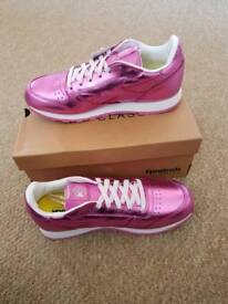 Reebok Classic. Brand new with box. Size 5.5. RRP £55.