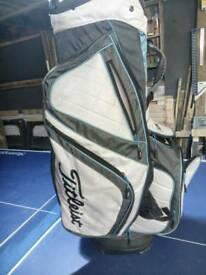 Golf bag, Titleist, cart bag