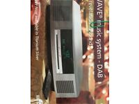 Bose wave music system with DAB module radio/cd player