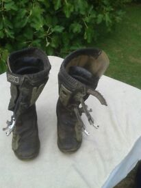 Motorcycle Trials boots