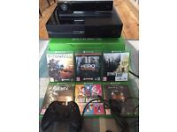 Xbox one, Kinect and 6 games