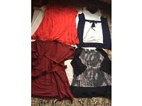 Ladies Bundle of Clothes Dresses Tops Size 24 Used 6 items £18