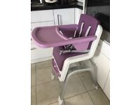 Baby to child high chair similar to Stokke Tripp Trapp