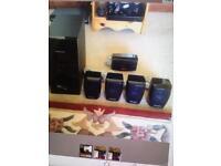 Panasonic Surround Sound Speakers x 5