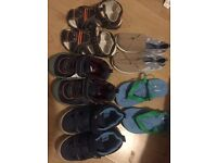 Toddler boots and shoes size 9