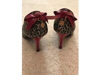 MORGAN leopard style shoes