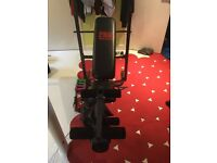 Prow power weights bench WITH WEIGHTS INCLUDED !!