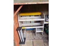 shelf unit -racking,bulkhead-gurd- vito