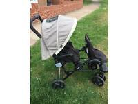 Beautiful double Graco Pushchair Stroller