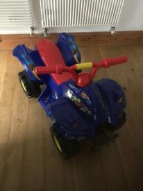 Kids blaze and the monster machine quad bike