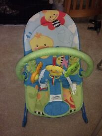 Fisher Price Baby Bouncer, with vibrating seat, great condition