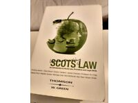 uni law books glasgow evidence human rights company statutes exam basics general scots strathclyde