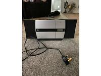 CD player, radio and Bluetooth stereo
