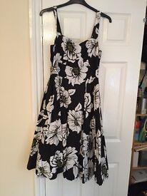 Debenhams Flowery Dress