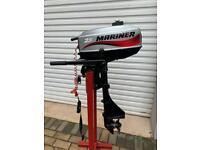 Mariner 2.5 Hp Outboard Boat Engine… for Sib Rib Tender Dingy Yacht Avon Zodiac