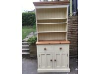 Small two drawer dresser. Painted pine