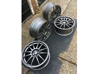 "OZ superleggera 18""alloy wheels 5x100 ET35"
