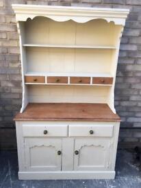 Vintage old pine Farmhouse Welsh dresser