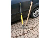 Selection of pick axes Only £6 for the lot!