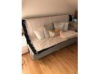 IKEA double 3 seat sofa bed