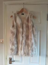 New Faux Fur Gilet
