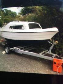 16ft boat trailer engine