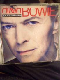 David Bowie CD.black tie white noise.