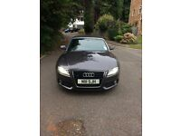 Audi A5 3.0 TDI Cabriolet. Tungsten grey, MOT due Mar 17. Tax due 1 Jan 17. Paddle shift 7 speed.