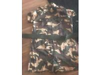 Woman's Army Playsuit