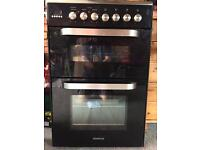 Kenwood gas cooker with double electric oven