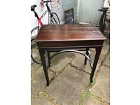 Beautiful polished small hall desk