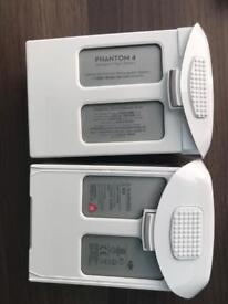 Batteries for DJI Phantom 4
